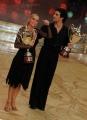 foto:IPP/Gioia Botteghi Roma 20/03/2010 Finale di Ballando con le stelle raiuno, premiazione del terzo posto a Barbara De Rossi e Simone De Pasquale
