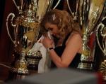 foto:IPP/Gioia Botteghi Roma 20/03/2010 Finale di Ballando con le stelle raiuno, Milly Carlucci piange