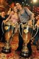 foto:IPP/Gioia Botteghi Roma 20/03/2010 Finale di Ballando con le stelle raiuno, i vicitori Veronica Olivier Raimondo Todaro
