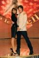 Foto IPP/Gioia Botteghi  Roma 8/01/10 Conferenza stampa di presentazione della sesta edizione di BALLANDO CON LE STELLE, nella foto: Ronn Moss e Sara Di Vaira