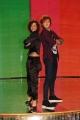 Foto IPP/Gioia Botteghi  Roma 8/01/10 Conferenza stampa di presentazione della sesta edizione di BALLANDO CON LE STELLE, nella foto: Stefano Masciolini e Alessandra Mason