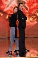 Foto IPP/Gioia Botteghi  Roma 8/01/10 Conferenza stampa di presentazione della sesta edizione di BALLANDO CON LE STELLE, nella foto: Margherita Granbassi e Stefano Di Filippo