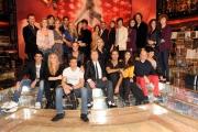 Foto IPP/Gioia Botteghi  Roma 8/01/10 Conferenza stampa di presentazione della sesta edizione di BALLANDO CON LE STELLE, nella foto:Tutti i partecipanti