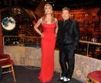 Foto IPP/Gioia Botteghi Roma 9/01/10 prima puntata di BALLANDO CON LE STELLE, nella foto:  Milly Carlucci con Paolo Belli