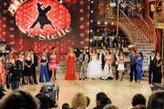Foto IPP/Gioia Botteghi Roma 9/01/10 prima puntata di BALLANDO CON LE STELLE, nella foto:  tutti i ballerini in gara