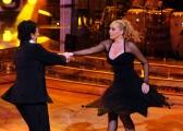 Foto IPP/Gioia Botteghi Roma 9/01/10 prima puntata di BALLANDO CON LE STELLE, nella foto: Barbara De Rossi e Simone Di Pasquale