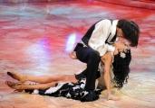 Foto IPP/Gioia Botteghi Roma 9/01/10 prima puntata di BALLANDO CON LE STELLE, nella foto: Stefano Pantano e Tinna Hoffmann