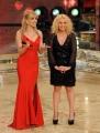Foto IPP/Gioia Botteghi  Roma 9/01/10 prima puntata di BALLANDO CON LE STELLE, nella foto:  Milly Carlucci con Antonella Clerici