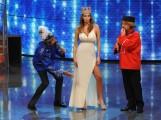 Foto/IPP/Gioia Botteghi Roma 7/01/2011 Prima puntata de I RACCOMANDATI, nella foto: Vittorio Emanuele, Debora Salvalaggio, Pupo