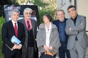Foto/IPP/Gioia Botteghi Roma 10/01/2011 Presentazione a Roma del Bifest che si svolgerà in Puglia, nella foto: Nichi Vendola, Felice Laudadio, Ettore Scola, Silvia Godelli, Oscar Iarussi