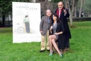 Foto/IPP/Gioia Botteghi Roma 11/01/2011 Presentazione del film UN GIORNO NELLA VITA, nella foto: Mariagrazia Cucinotta, Alessandro Haber, Ernesto Mahieux