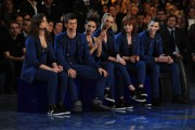 Foto/IPP/Gioia Botteghi Roma 11/01/2011 Prima puntata di Amici, nella foto:  i concorrenti Blu