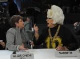 Foto/IPP/Gioia Botteghi Roma 11/01/2011 Prima puntata di Amici, nella foto: Mara Maionchi, Platinette