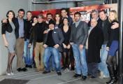 Foto/IPP/Gioia Botteghi Roma 12/01/2011 presentazione della fiction rai LA SQUADRA, nella foto: il cast