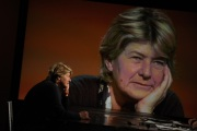 Foto/IPP/Gioia Botteghi Roma 16/01/2011 Susanna Camusso ospite della trasmissione di Lucia Annunziata _In mezz'ora_