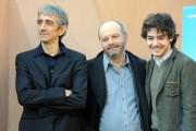 Foto/IPP/Gioia Botteghi Roma 18/01/2011 presentazione del film Qualunquemente, nella foto: il regista Giulio Manfredonia, Sergio Rubini, Davide Giordano