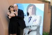 Foto/IPP/Gioia Botteghi Roma 18/01/2011 presentazione del film Qualunquemente, nella foto: Antonio Albanese,  Lorenza Indovina