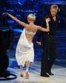 10 foto Roma 26/02/2011 Prima puntata di BALLANDO CON LE STELLE, nella foto:  Kaspar Capparoni e Yulia Musikhina