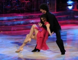 10 foto Roma 26/02/2011 Prima puntata di BALLANDO CON LE STELLE, nella foto: Barbara Capponi e Samuel Peron