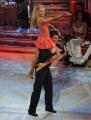 10 foto Roma 26/02/2011 Prima puntata di BALLANDO CON LE STELLE, nella foto:   Christian Panucci e Agnese Junkure