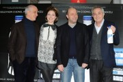 Foto/IPP/Gioia Botteghi Roma 1/03/2011 presentazione del film IL GIOIELLINO, nella foto Tony Servillo, Remo Gironi, Sarah Felberbaum, il regista Andrea Molaioli