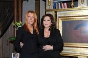 Foto/IPP/Gioia Botteghi Roma 3/03/2011 trasmissione Telecamere ospite Maria Vittoria Brambilla con Anna La Rosa
