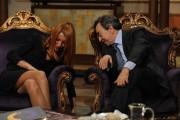 Foto/IPP/Gioia Botteghi Roma 3/03/2011 trasmissione Telecamere ospite Maria Vittoria Brambilla con il presidente dell'enav Vito Riggio