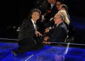 foto/IPP/Gioia Botteghi 21/11/2011 Roma, seconda puntata dello spettacolo di Fiorello nella foto Direttore di raiuno Mauro Mazza