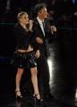 foto/IPP/Gioia Botteghi 21/11/2011 Roma, seconda puntata dello spettacolo di Fiorello nella foto con Laura Chiatti