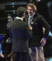 foto/IPP/Gioia Botteghi 21/11/2011 Roma, seconda puntata dello spettacolo di Fiorello nella foto con Lo Cicero della nazionale di rugby italiana