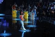 foto/IPP/Gioia Botteghi 21/11/2011 Roma, seconda puntata dello spettacolo di Fiorello nella foto con Caparezza