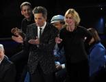 foto/IPP/Gioia Botteghi 21/11/2011 Roma, seconda puntata dello spettacolo di Fiorello nella foto con Margherita Buy