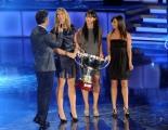 foto/IPP/Gioia Botteghi 28/11/2011 Roma, programma di Fiorello, nella foto con la nazionale di Pallavolo