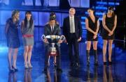 foto/IPP/Gioia Botteghi 28/11/2011 Roma, programma di Fiorello, nella foto con la nazionale di Pallavolo e volley