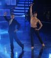 foto/IPP/Gioia Botteghi 05/12/2011 Roma, Quarta puntata del programma di Fiorello , nella foto con Roberto Bolle