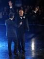 foto/IPP/Gioia Botteghi 05/12/2011 Roma, Quarta puntata del programma di Fiorello , nella foto con Pippo Baudo