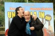 Foto/IPP/Gioia Botteghi Roma 3/03/2011 presentazione del film una cella in due, nella foto Maurizio Battista Enzo Salvi