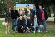 Foto/IPP/Gioia Botteghi Roma 3/03/2011 presentazione del film una cella in due, nella foto Tutto il cast con il regista Nicola Barnaba