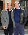 Foto IPP/Gioia Botteghi Roma 10/03/2011 Presentazione della fiction di raiuno Edda Ciano e il comunista, nella foto: Alessandro Preziosi e il produttore Luca Barbareschi