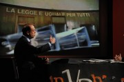 Foto/IPP/Gioia Botteghi Roma 13/03/2011Puntata di IN MEZZ'ORA con il ministro Alfano ospite di Lucia Annunziata