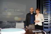 Foto IPP/Gioia Botteghi Roma 15/03/2011 Roberto Saviano ospite della trasmissione de La7 , Otto e mezzo con Lilly Gruber
