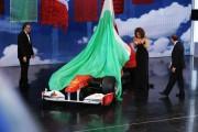 Foto IPP/Gioia Botteghi Roma 16/03/2011 Prima puntata raiuno di CENTOCINQUANTA, nella foto: Pippo Baudo, Bruno Vespa e  Sophia Loren