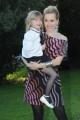 Foto IPP/Gioia Botteghi Roma 24/03/2011 presentazione della Fiction di raiuno, UN MEDICO IN FAMIGLIA7, nella foto:  Margot Sikabonyi con la figlia