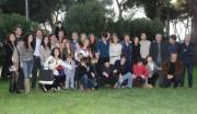 Foto IPP/Gioia Botteghi Roma 24/03/2011 presentazione della Fiction di raiuno, UN MEDICO IN FAMIGLIA7, nella foto: Tutto il cast