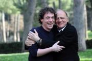 Foto IPP/Gioia Botteghi Roma 25/03/2011 presentazione del film La fine è il mio inizio, nella foto:  Bruno Ganz, Elio Germano