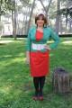 Foto IPP/Gioia Botteghi 31/03/2011 Roma presentazione del film A SUD DI NEW YORK, nella foto: La regista Elena Bonelli