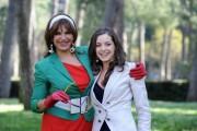 Foto IPP/Gioia Botteghi 31/03/2011 Roma presentazione del film A SUD DI NEW YORK, nella foto: La regista Elena Bonelli Carmen Napolitano