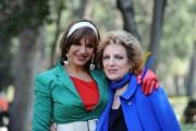 Foto IPP/Gioia Botteghi 31/03/2011 Roma presentazione del film A SUD DI NEW YORK, nella foto: La regista Elena Bonelli e Fioretta Mari