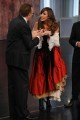 Foto IPP/Gioia Botteghi 30/03/2011 Roma terza puntata di 150anni, nella foto: Pippo Baudo,  Belen Rodriguez
