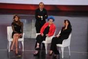 Foto IPP/Gioia Botteghi 30/03/2011 Roma terza puntata di 150anni, nella foto: Lucia Bosè e Francesca Testasecca, Vespa e Rodriguez